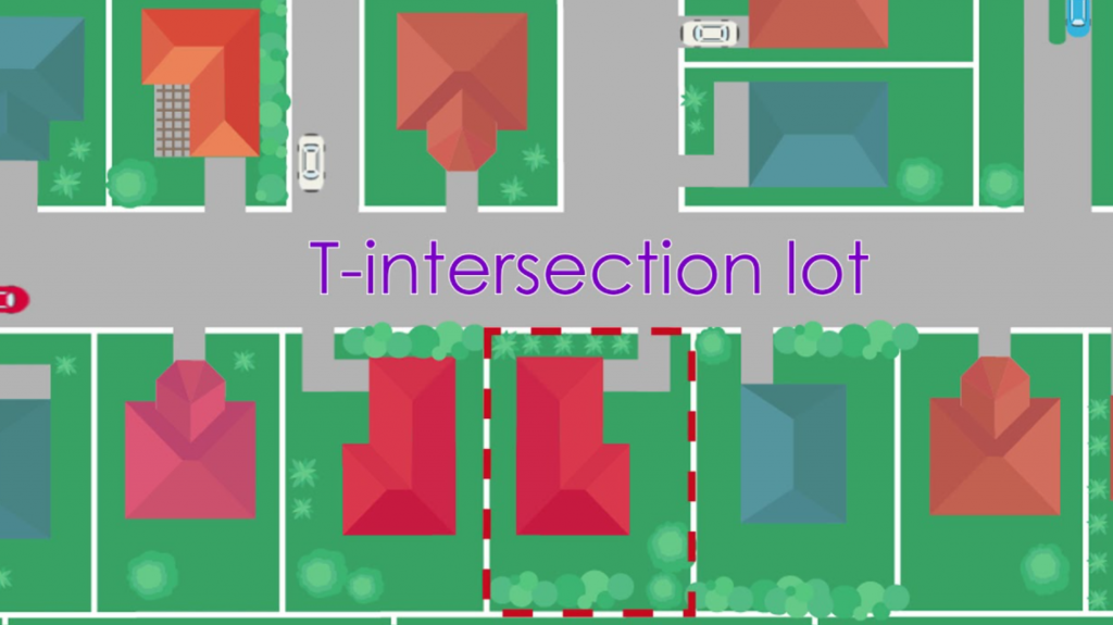 T-Intersection Lot